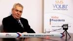 Předvolební vánoční video pozdrav Miloše Zemana